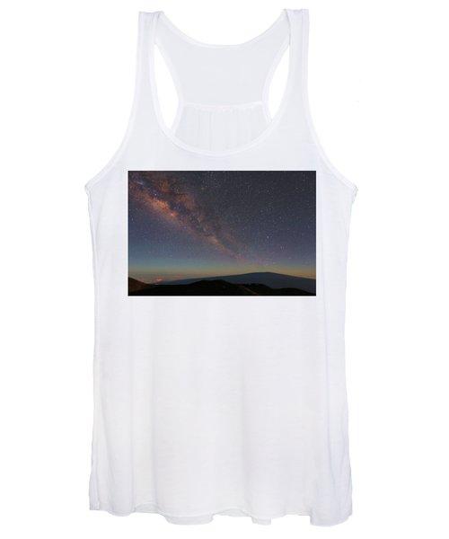 Milky Way Over Mauna Loa Women's Tank Top