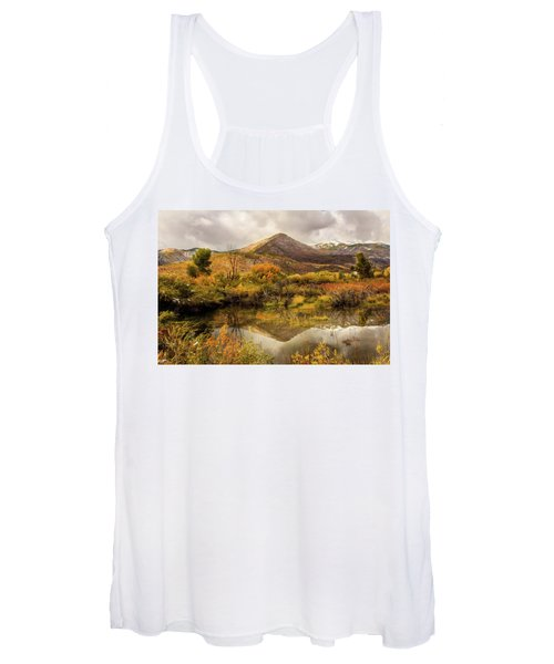Mill Canyon Peak Reflections Women's Tank Top