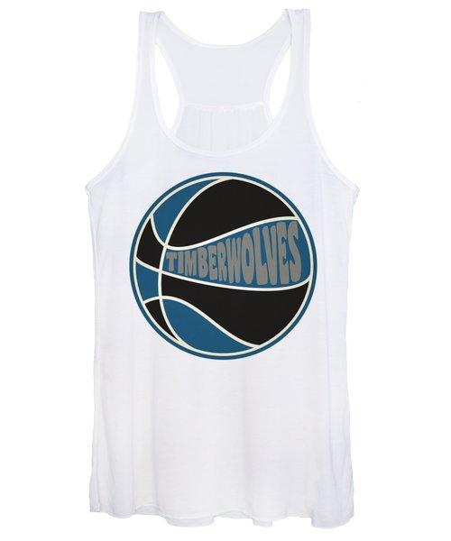 Minnesota Timberwolves Retro Shirt Women's Tank Top