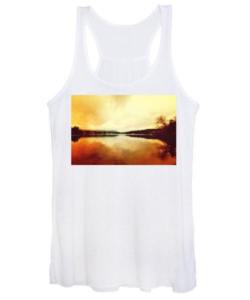 Mirror Lake At Sunset Women's Tank Top