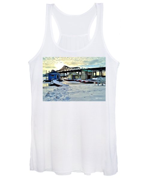 Mississippi River Boathouses Women's Tank Top