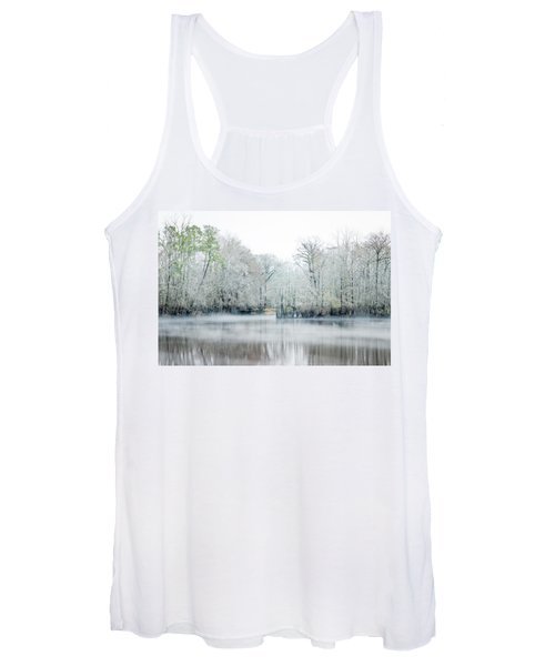 Mist On The River Women's Tank Top