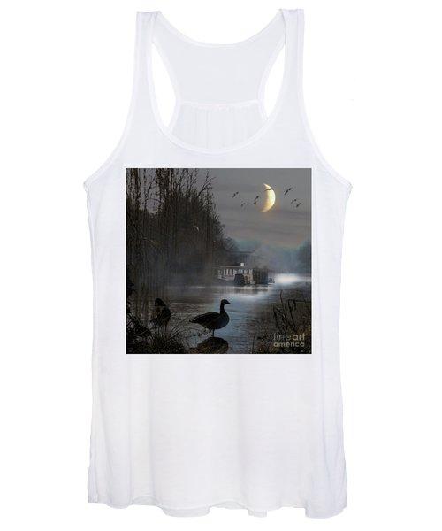 Misty Moonlight Women's Tank Top