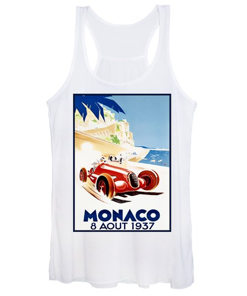Monaco Grand Prix 1937 Women's Tank Top