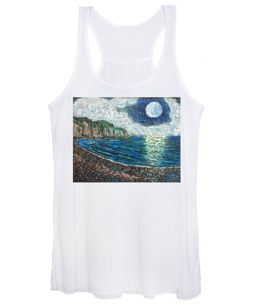 Moonlight In Pourvill Women's Tank Top