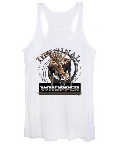 Moose Whooper Women's Tank Top