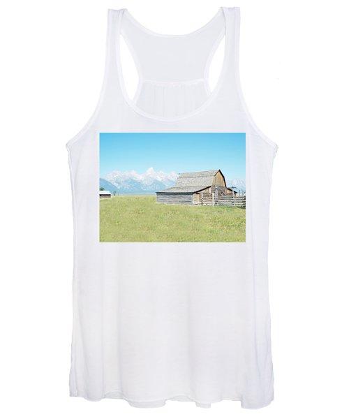 Mormon Row Barn - Grand Tetons Women's Tank Top