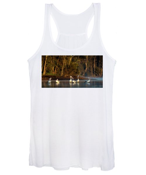 Morning On The River Women's Tank Top
