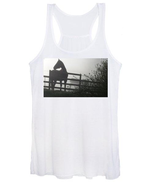 Morning Silhouette #2 Women's Tank Top