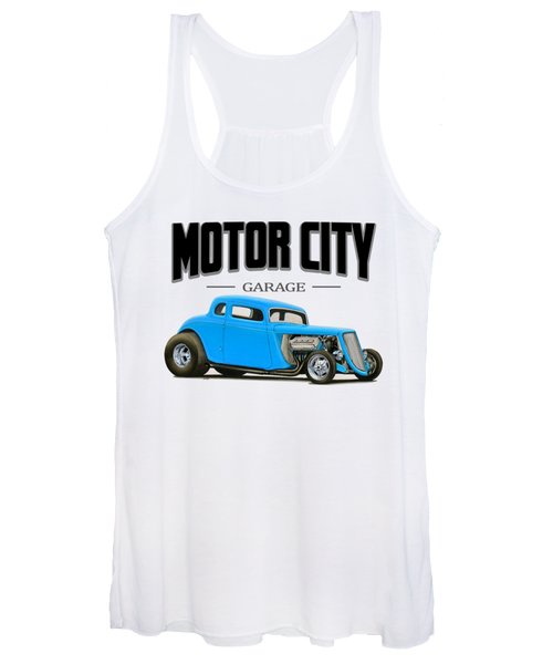 Motor City Hot Rod Women's Tank Top