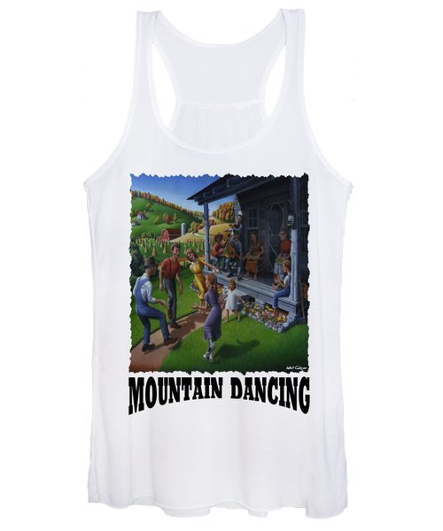 Mountain Dancing - Flatfoot Dancing Women's Tank Top