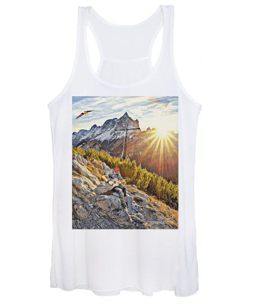 Mountain Of The Lord Women's Tank Top