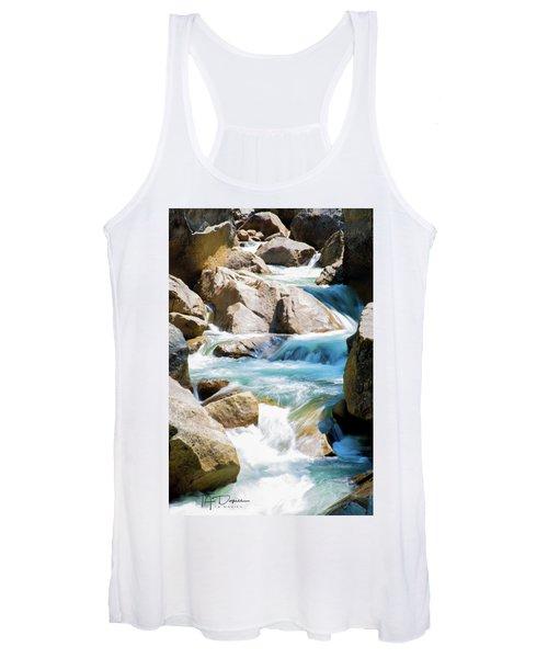 Mountain Spring Water Women's Tank Top