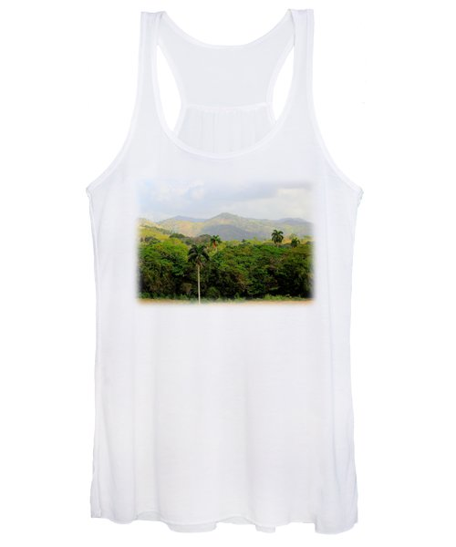 Mountains And Palms Women's Tank Top