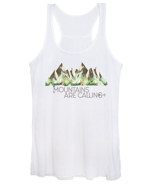 Mountains Are Calling Women's Tank Top