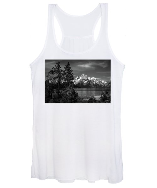 Mt. Moran And Trees Women's Tank Top