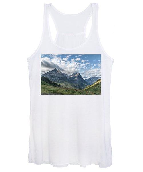 Mt. Oberlin From Logan Pass Women's Tank Top