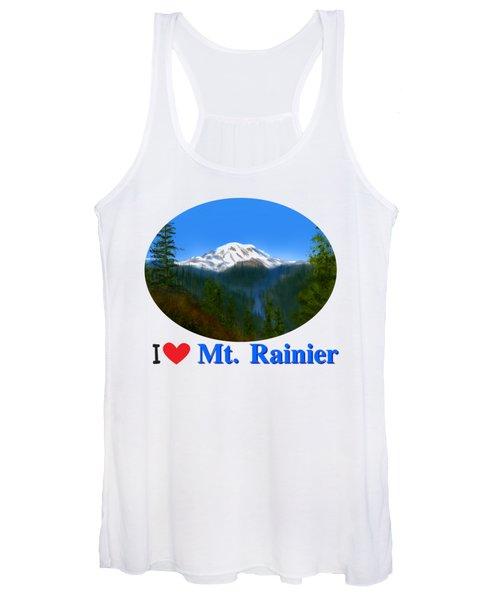 Mt Rainier Women's Tank Top