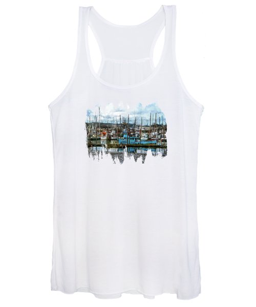 Mud Flats Women's Tank Top