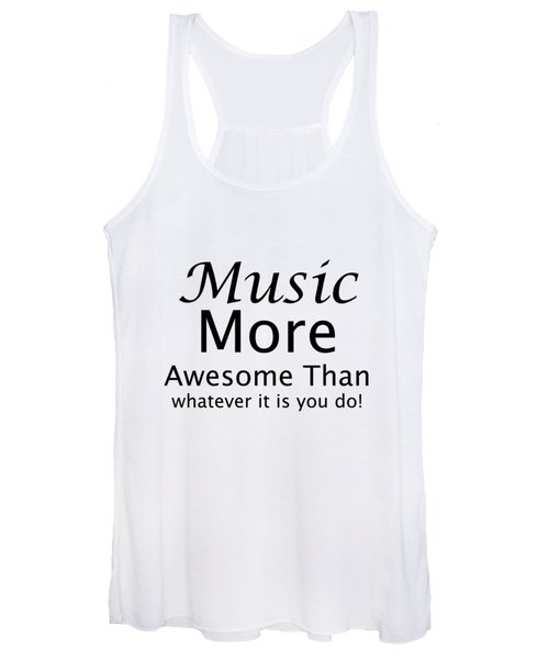 Music More Awesome Than You 5569.02 Women's Tank Top
