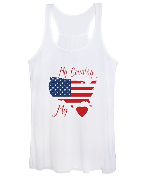 My Country My Heart Women's Tank Top