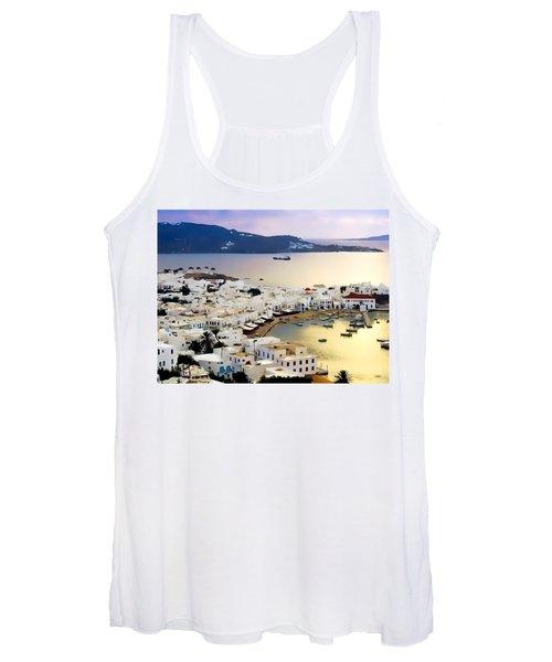 Mykonos Greece Women's Tank Top