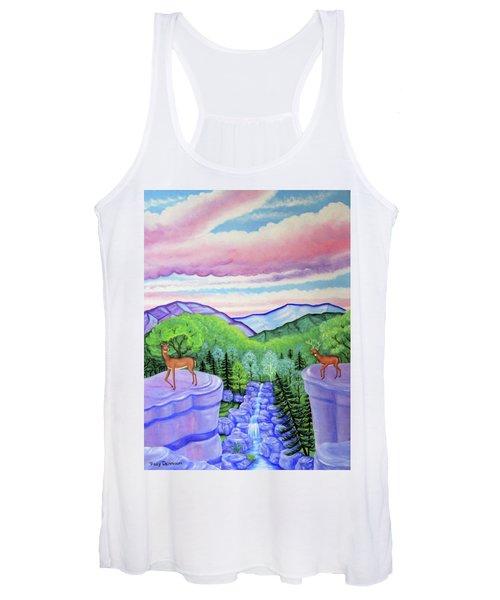 Mystic Mountain Women's Tank Top