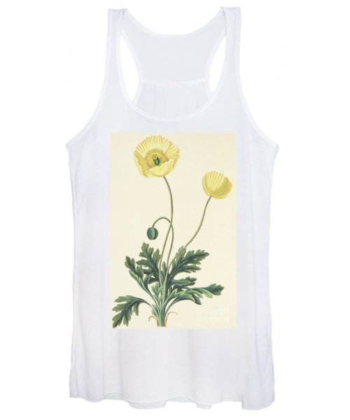 Naked Stalked Poppy Women's Tank Top