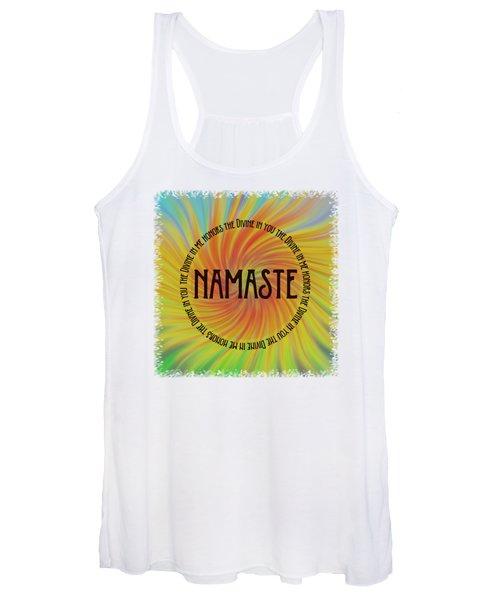 Namaste Divine And Honor Swirl Women's Tank Top
