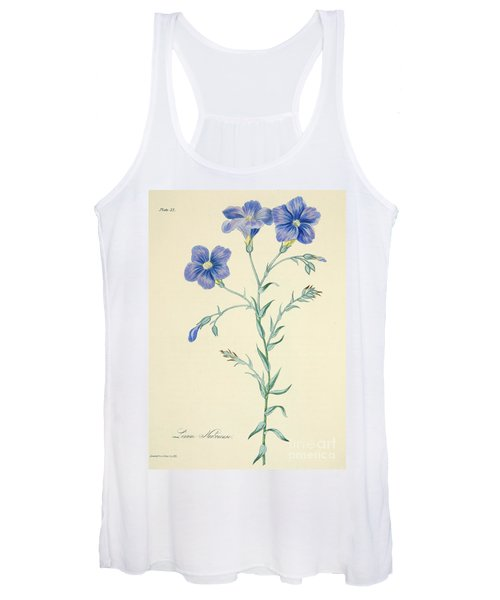 Narbonne Blue Flax Women's Tank Top