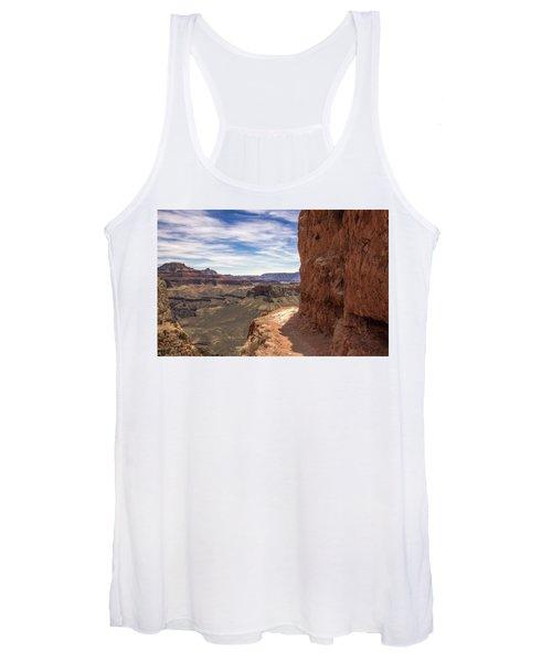 Narrow Trail On The South Kaibab Trail, Grand Canyon Women's Tank Top