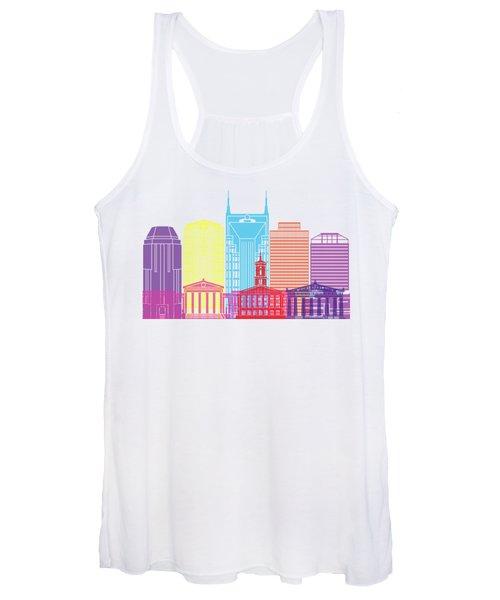 Nashville V2 Skyline Pop Women's Tank Top