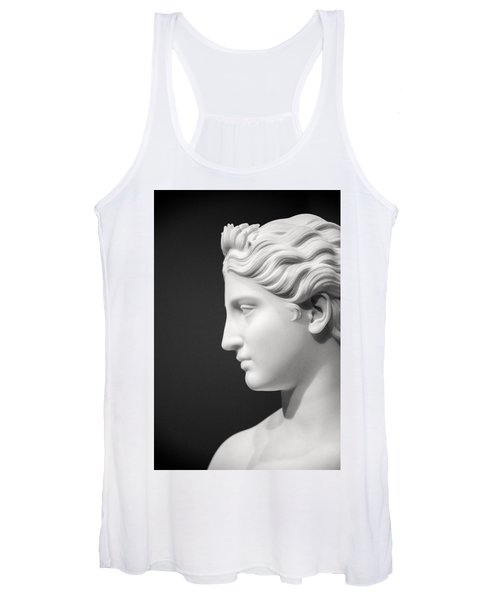 National Portrait Gallery Statue Profile Women's Tank Top