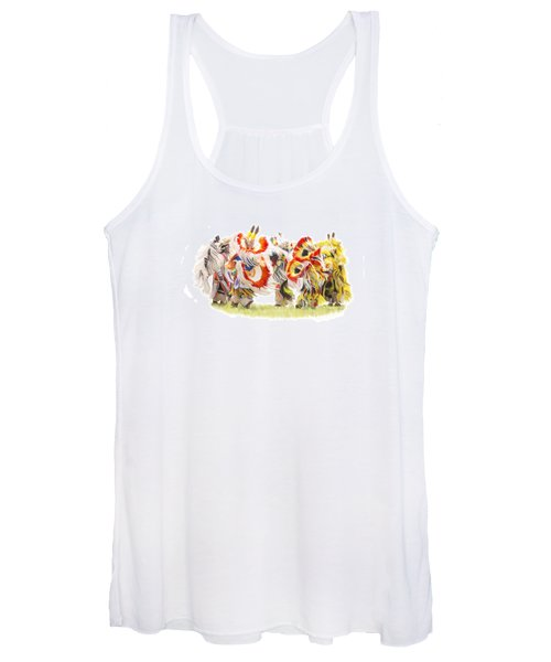 Native Color In Motion Women's Tank Top