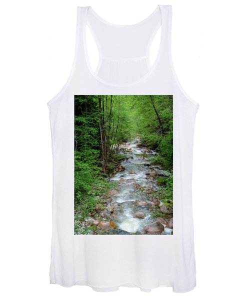 Naturally Pure Stream Backroad Discovery Women's Tank Top