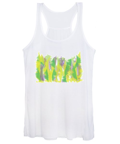 Nature - Abstract Women's Tank Top