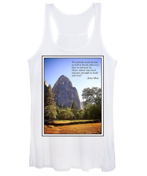 Natures Cathedral Women's Tank Top