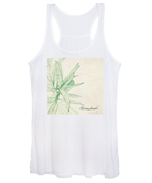 Women's Tank Top featuring the digital art Nerium Oleander by Gina Harrison