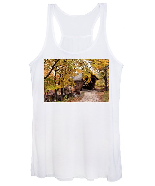 New England College No. 63 Covered Bridge  Women's Tank Top