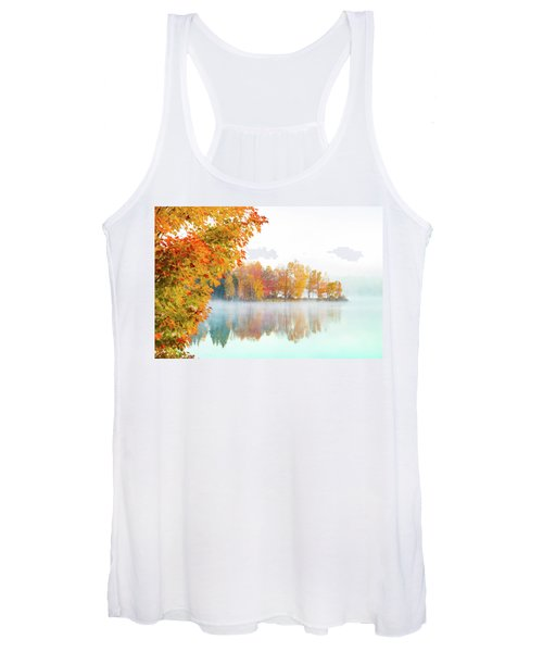 New England Fall Colors Of Maine Women's Tank Top