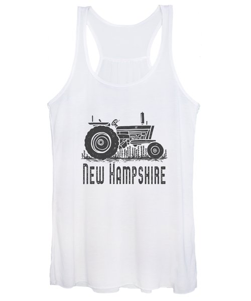 New Hampshire Vintage Tractor Women's Tank Top