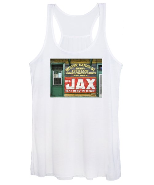 New Orleans Beer Parlor Women's Tank Top