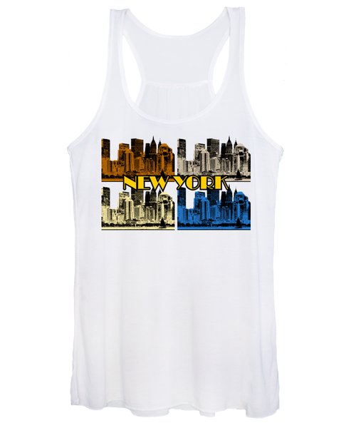 New York 4 Color Women's Tank Top
