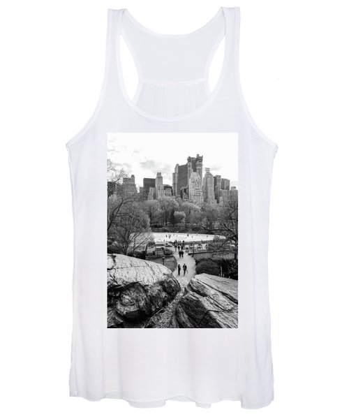 New York City Central Park Ice Skating Women's Tank Top
