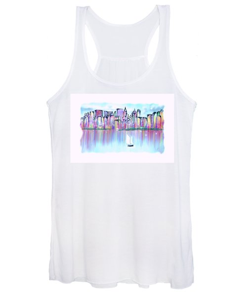 New York City Scape Women's Tank Top