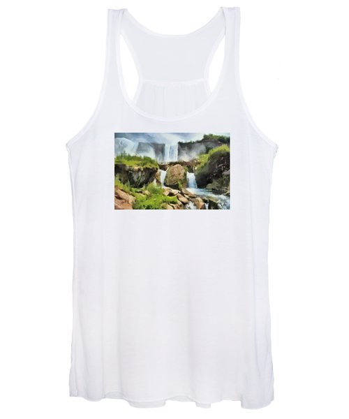 Niagara Falls Cave Of The Winds Women's Tank Top
