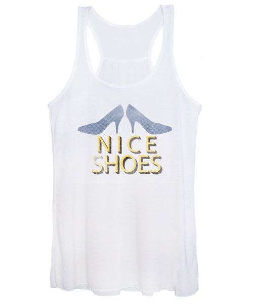 Nice Shoes Tee Women's Tank Top