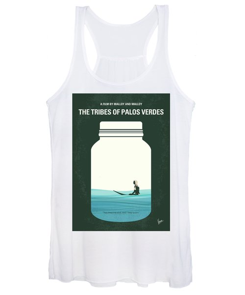 No957 My The Tribes Of Palos Verdes Minimal Movie Poster Women's Tank Top
