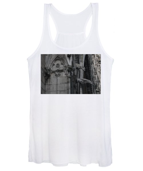 North Side Notre Dame Cathedral Women's Tank Top
