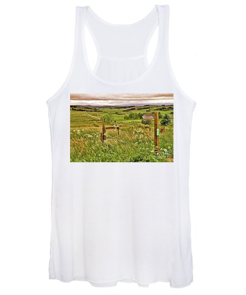 Northumberland Landscape Women's Tank Top